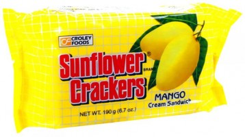 Mango Creme Crackers 190 g Sunflower Brand