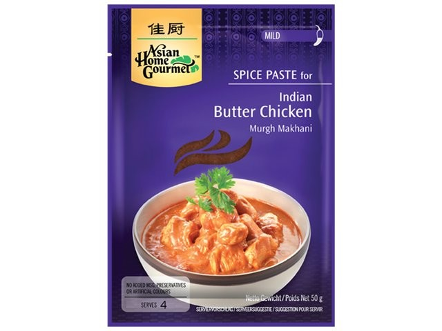 Spice Paste for Indian Butter Chicken, Murgh Makhani